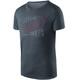 Houdini Activist Message Kortærmet T-shirt Herrer grå/blå